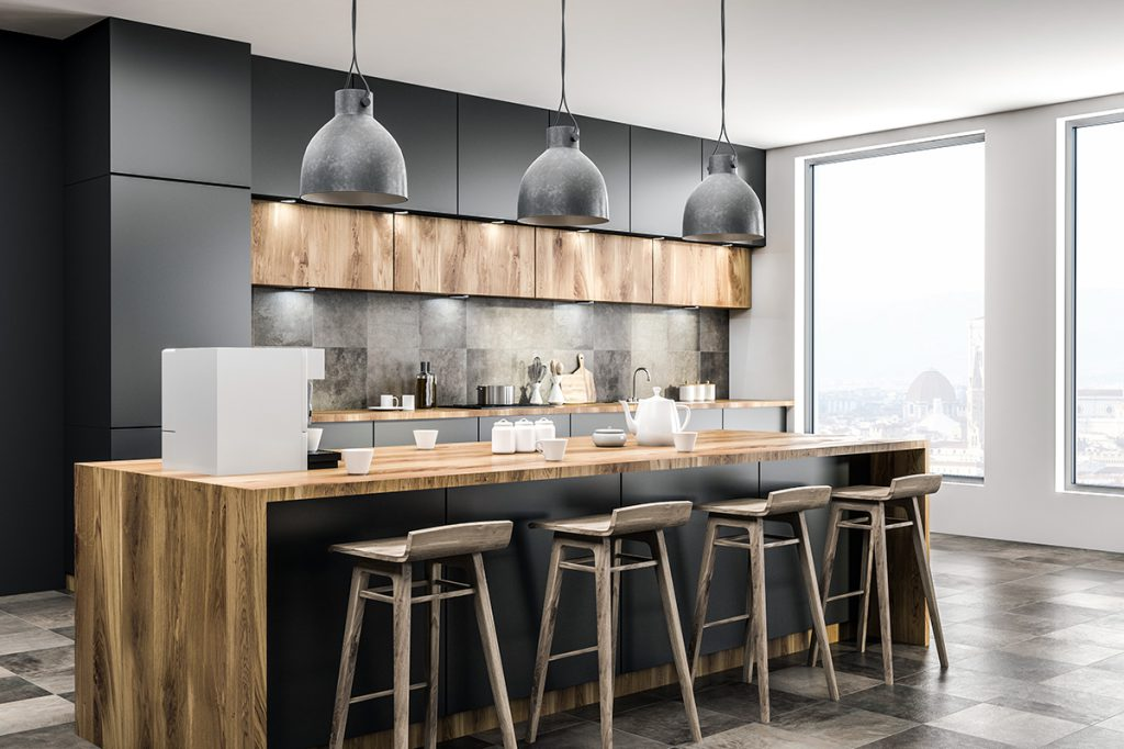 average cost of home improvement project kitchen remodel